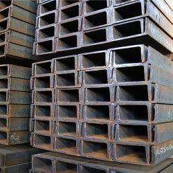 Canal U laminadas a quente de aço para construção Q235 Grau