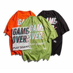 Vestuário T Shirt Design personalizado, Venda por grosso de vestuário orgânico, o homem branco Tshirt