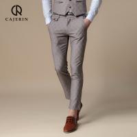 Ações do cartão calças de verão os pés do sexo masculino 9 minutos de calças prensa para cultivar uma moralidade do tipo suíte Thin Man