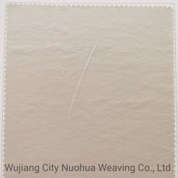 78% algodão 17% poliéster 5% nylon Double Deck 2/2 Twwill Imitation Memory à prova de água Tecido anti-rasgável 75D e 30d * 21s para casaco/casaco/casaco com enchimento de penas