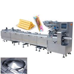 Disque d'oeufs d'alimentation rouleau automatique /Marshmallow/candy bar Sac oreiller Pack Les machines de conditionnement alimentaire Snack-bar Machine d'emballage de débit