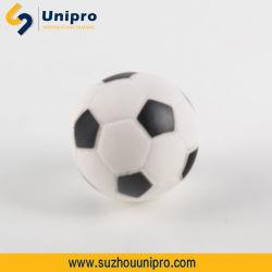 Giocattolo stridulo della sfera di gioco del calcio dell'animale domestico del gatto del cane del vinile