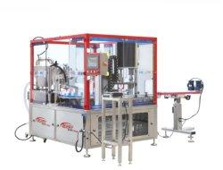 حزمة تغليف سائل لعلبة عصير بلبّ الحيوانات الأليفة تلقائي بالكامل الآلات