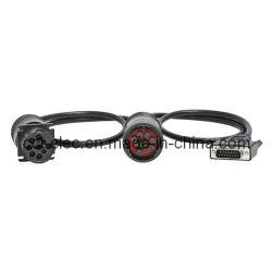 Deutsch SAE J1939 9pin M+F에 dB15p Cable