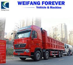 Bajo precio utilizado HOWO Volquete Camión Volquete 12 Ruedas 360HP de 40 toneladas de buenas condiciones para África