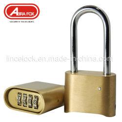 ロックの/Brassの組合せのパッドロック-セット自身のダイヤル錠コードしなさい、
