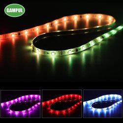 مصباح قطاع LED من المصنع في الصين، وبُعيد إضاءة شريط LED 110-120V مرن/مقاوم للمياه/ألوان متعددة/وظيفة متعددة الأوضاع/جهاز تحكم عن بعد SMD5050 LED قابل للتخفيت للاستخدام المنزلي/المكتب/المبنى