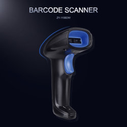 Mobiele telefoon 2D barcodescanner Support Telefoon, draagbare QR draadloze barcode