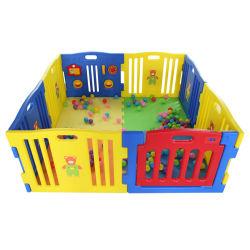 Omheining van de Veiligheid van het Huis van de Omheining van de Peuter van de Baby van de Omheining van het Spel van kinderen de Binnen Kruipende