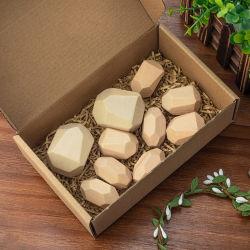 خشبيّة يلوّن حجارة بناية قالب تربويّ لعبة أسلوب مبتكر [نورديك] يكدّر لعبة قوس قزح لعبة خشبيّة
