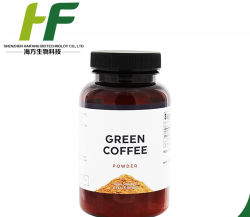 Het hete het Verkopen Vermageringsdieet verliest Pil van het Uittreksel van de Boon van de Koffie van de Capsule van het Gewicht de Groene