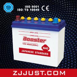 Chargé de stockage à sec de la batterie La batterie de voiture automobile 32C24L 12V40ah