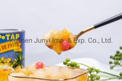 Melhor qualidade de conservas de frutas coquetel de material fresco