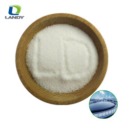 Het textiel Hulp Anionische/Van kationen Polyacrylamide CAS Nr van de Agent PAM: 9003-05-8