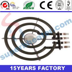 Riscaldatore di avvolgimento elettrico della stufa della famiglia degli elementi riscaldanti della bobina