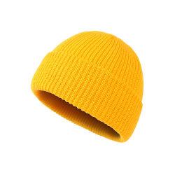 El invierno mujer linda chica Custom Hat Real de lujo pieles de conejo tejidos acrílicos Beanie Hat