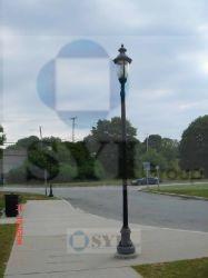 鋳造アルミの道ランプのポスト