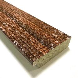 2021hot la vente de style moderne de couleur marron Taille personnalisée Décoration maison Photo Frame prix d'usine