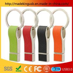 2019 저렴한 가죽 휘슬 USB 플래시 메모리 스틱 / 가죽 USB 전체 용량의 플래시 드라이브