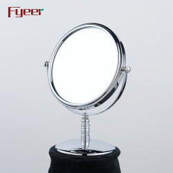 Fyeer Desktop Free Standing 8 Pollici Round Makeup Mirror