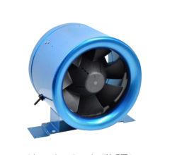 D - Вентилятор огромный поток воздуха 6 дюйма в линию трубопровода вентиляции осевых вентиляторов постоянного тока
