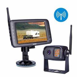 """5"""" de alta qualidade Tela Retrovisor Monitor de automóveis de aluguer a marcha com 4 câmaras suportadas"""
