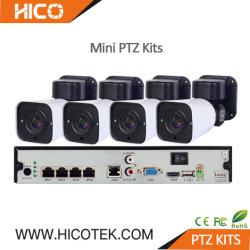 sistema del CCTV delle macchine fotografiche del richiamo di velocità dello Starlight del IP PTZ di 5MP H. 265 Poe e 16 del magnetoscopio NVR della rete della Manica