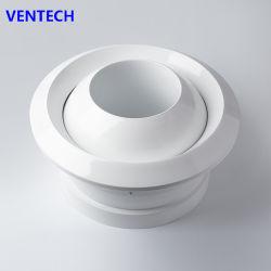 La paroi latérale de CVC Jet Air diffuseur diffuseur flexible Eyeball Jet