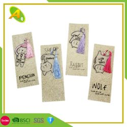 Plegable personalizado Megnetic personalizada regalo favorito de dibujos animados personalizados de PVC suave Clip libro libro de Marcos (07)