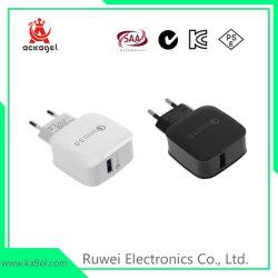 Smart Phones Quick carregador USB QC3.0 iPhone adaptador de alimentação USB