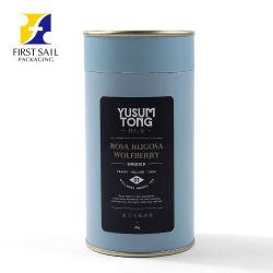 Todas as cores de papel revestido para impressão do tubo de impressão personalizado Chá Estanho