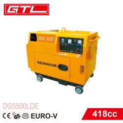 Beweglicher dieselbetriebener Generator 4-Stroke luftgekühlter, leiser 4 Anfall-elektrischer Dieselenergien-Generator-, des Motor-4-Stroke Typ und Dieselkraftstoff-Generators