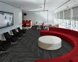 Pp Oppervlakte Pvc Backing 100 X 33.33cm Rectangle Carpet Commercial Hotel Home Kantoor Carpet Tegels Corridor Carpet