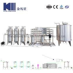 La pequeña RO Industrial maquinaria de planta de tratamiento de agua pura para 500L/H
