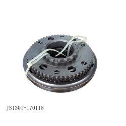 pièces de rechange du chariot d'engrenage rapide d'origine Js130T-1701180 de synchroniseur