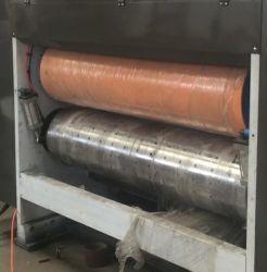 Halb-Selbstgewölbtes flexographisches Drucken, das stempelschneidene Maschine kerbt