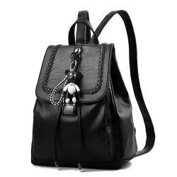 Sacs de gros en ligne Mini Fancy Mesdames Femmes étanche noir Sac à dos en cuir pour les filles de PU