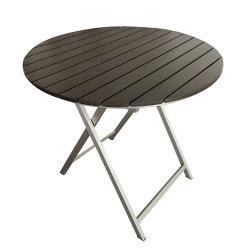Удобный для переноски сад за круглым столом садовой мебелью складного стола