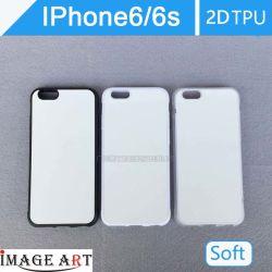 IPhone 6/6s Сублимация пустой пластиковый 2D TPU Телефон/крышка для передачи тепла печать