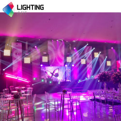 P12.5 480*480 مم وحدة شاشة LED داخلية SMD RGB للتأجير الداخلي/الثابت جدار عرض مباشر LED