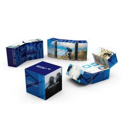 Werbung 7cm Kalender Faltender Zauberwürfel für Geschenke