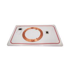 ホールセールデュアル周波数 RFID HF 、 UHF ハイブリッドコンビスマートカード付き