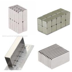 Огромный размер блока NdFeB постоянного магнита готово магнита
