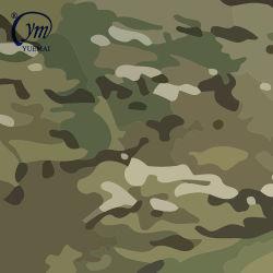 Algodão de nylon Ripstop Poliéster exterior à prova de camuflagem militar tecido de impressão