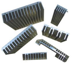 OEM empilées de précision en aluminium fin d'Extrusion de lumière LED croître le dissipateur de chaleur