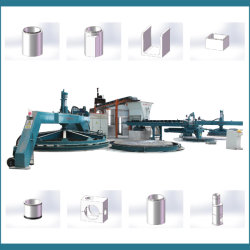 Tipo verticale tubo concreto di vibrazione di funzionamento facile che fa strumentazione 1350-3000/2.5m