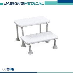 携帯用ステンレス鋼の倍のフィートのステップ浴室のベンチ