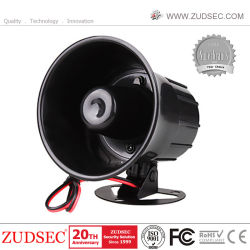 Commerce de gros 15W 8 ohms Sirène piézo électronique 120dB avertisseur sonore