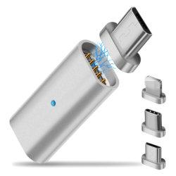 최대 iPhone Xs Xr를 위한 1가지의 유형 C 마이크로 USB 접합기 자석 연결관에 대하여 힘 비용을 부과 데이터 3