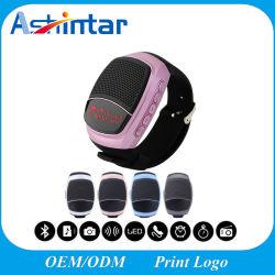 Sports d'appel mains libres Haut-parleur Bluetooth La carte de TF jouer mini haut-parleur bracelet